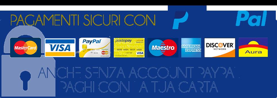 Pagamento sicuro tramite PayPal