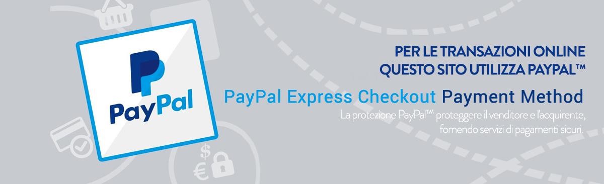 Pagamenti sicuri con Paypal™