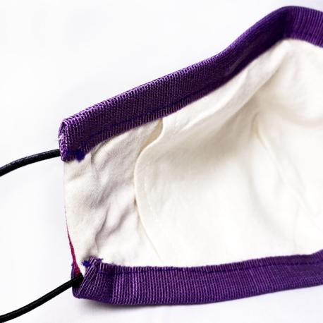 Mascherina protettiva artigianale con tasca 1