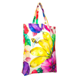 Shopper da mare Floreale Unica