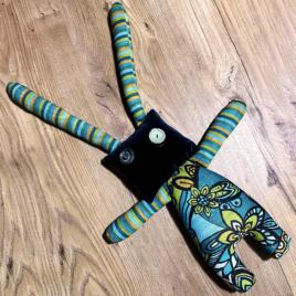Bambola realizzata a mano 40 cm made in italy
