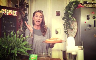 Tessa Gelisio, e la cucina semplice, pratica, alla portata di tutti.
