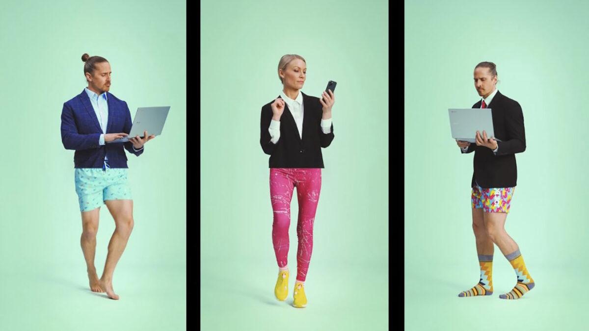 Ecco gli outfit più gettonati indossati durante lo smartworking