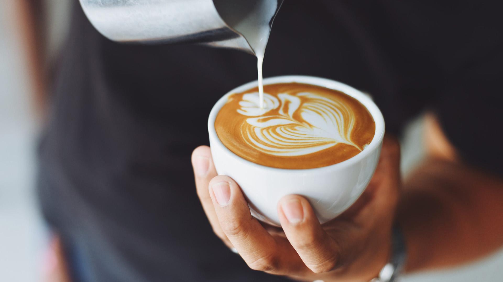 Caffè al bar: cappuccino