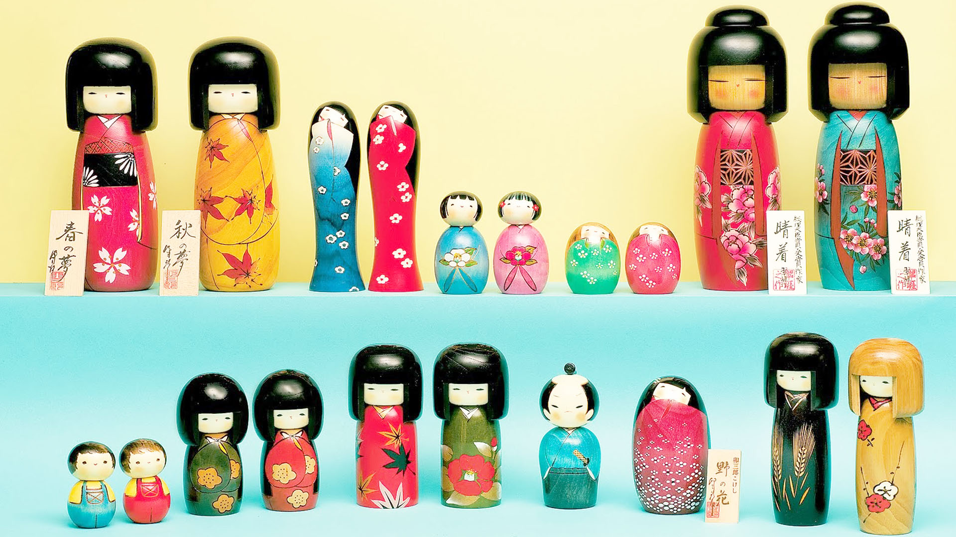 Artigianato giapponese Kokeshi: shop online dal Giappone