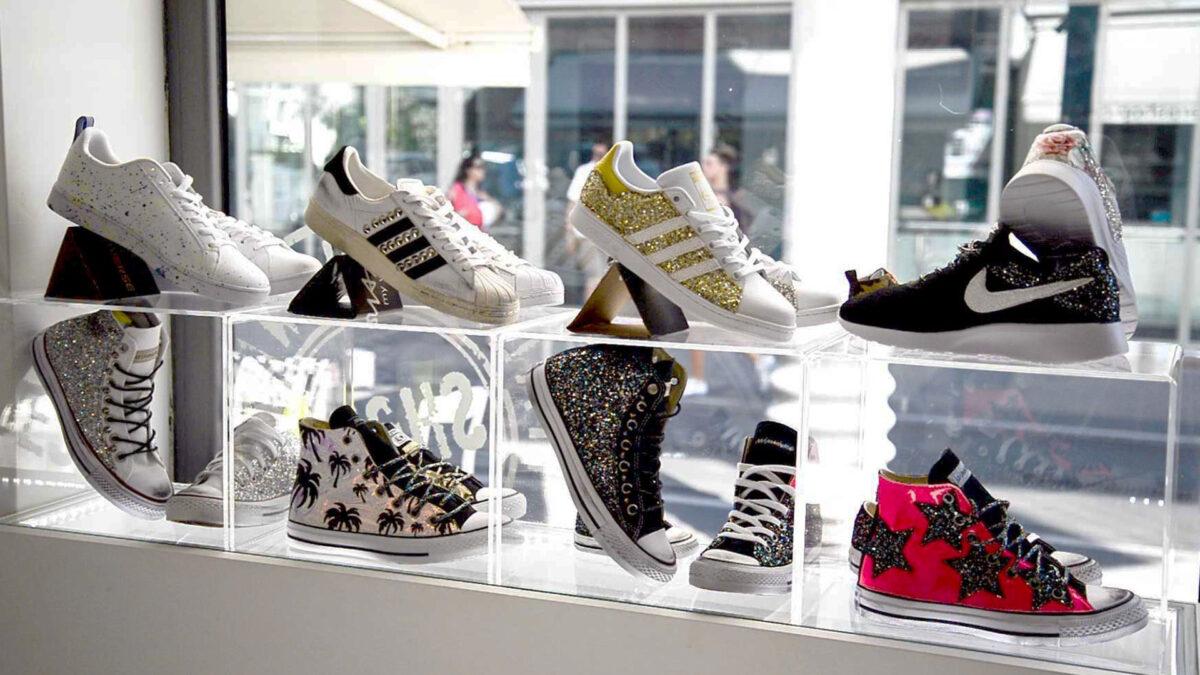 Custom shoes Mimanera: sneaker personalizzate fatte a mano in Italia