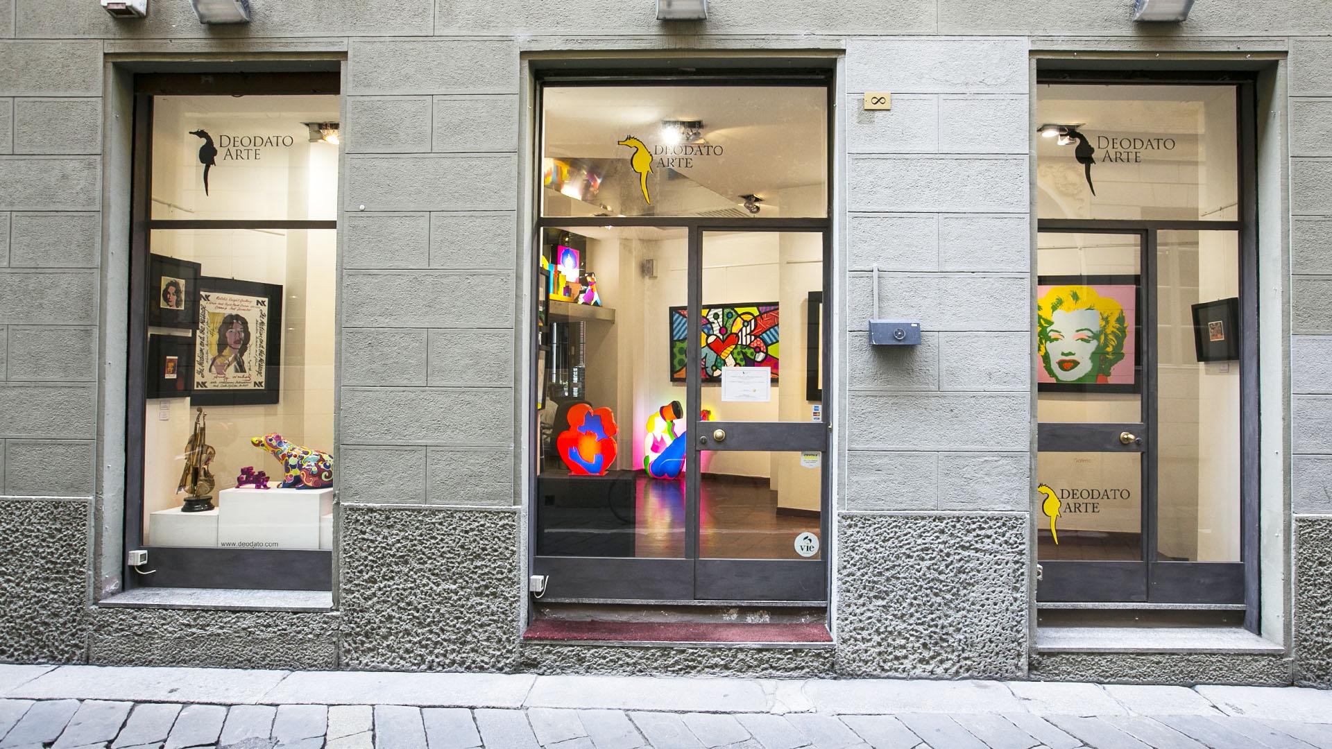 Gallerie d'arte contemporanea online: Deodato Arte Milano