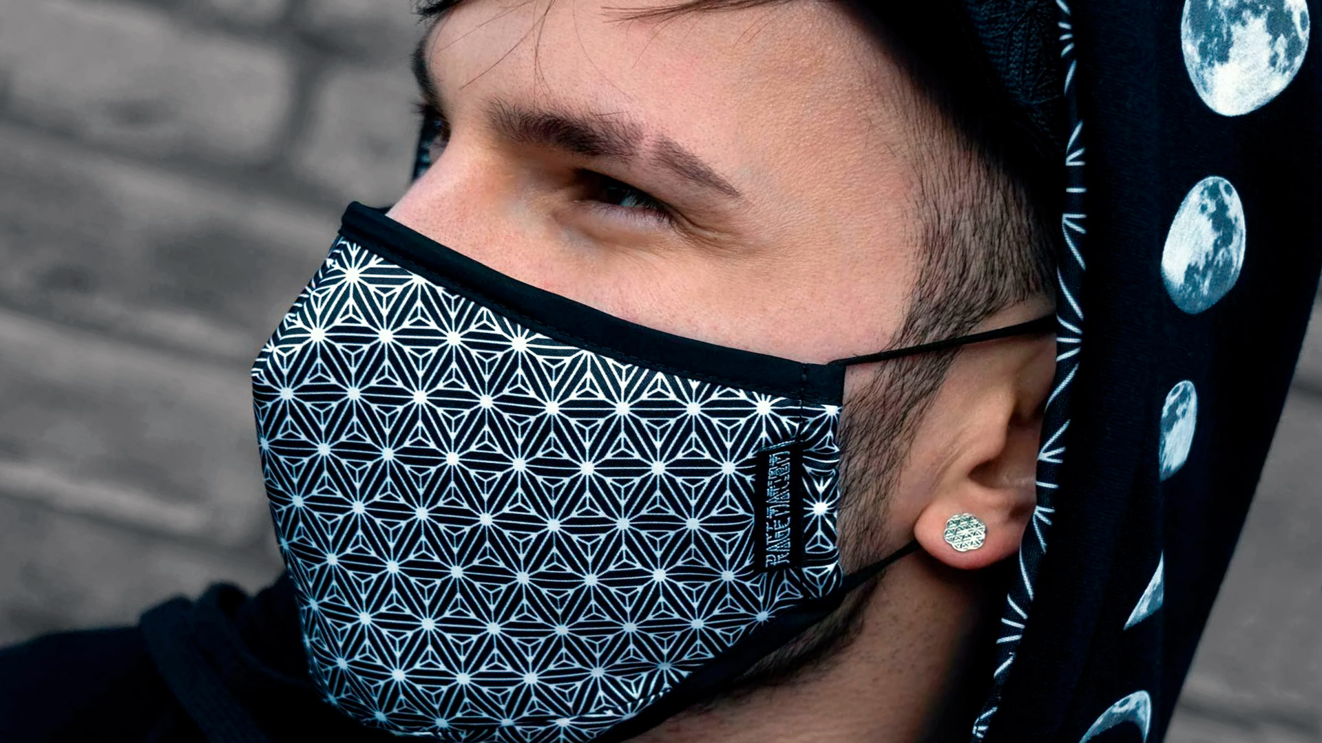 Le mascherine protettive diventano fashion!