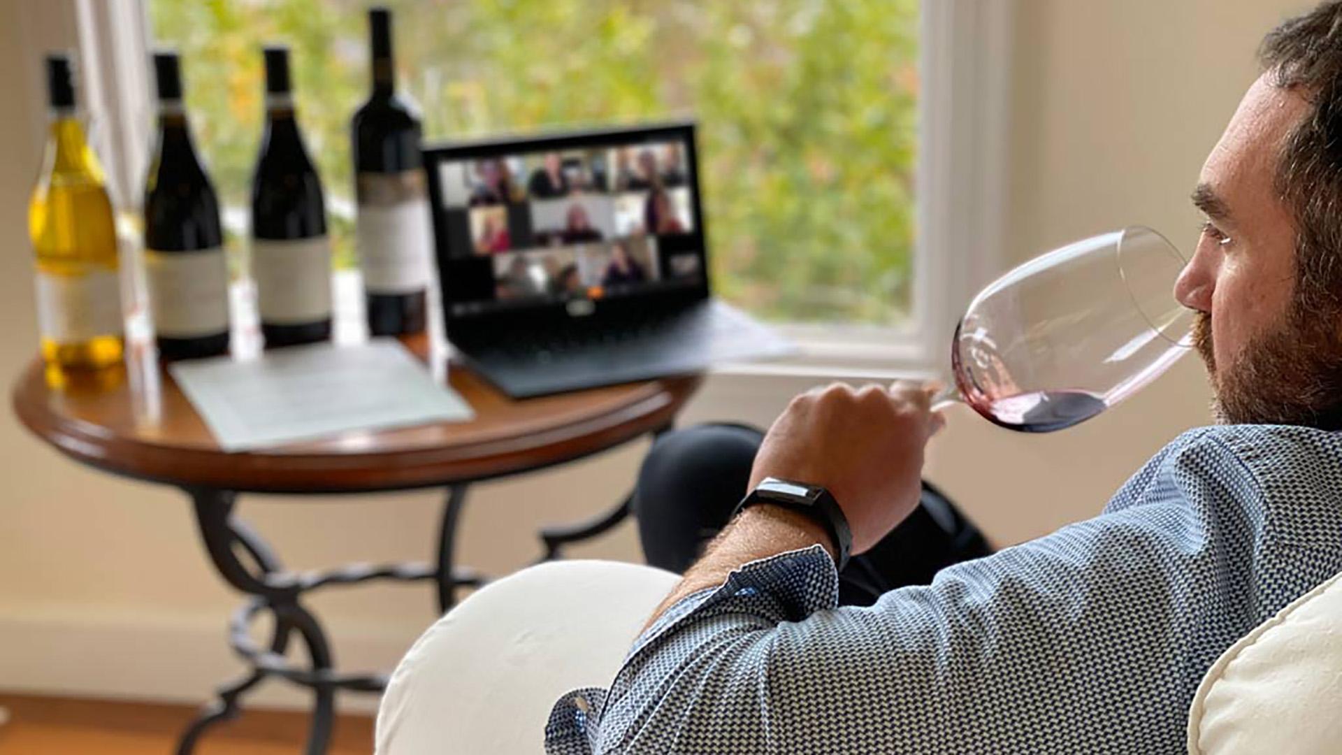 Degustazione vino online: come funziona lo smart tasting