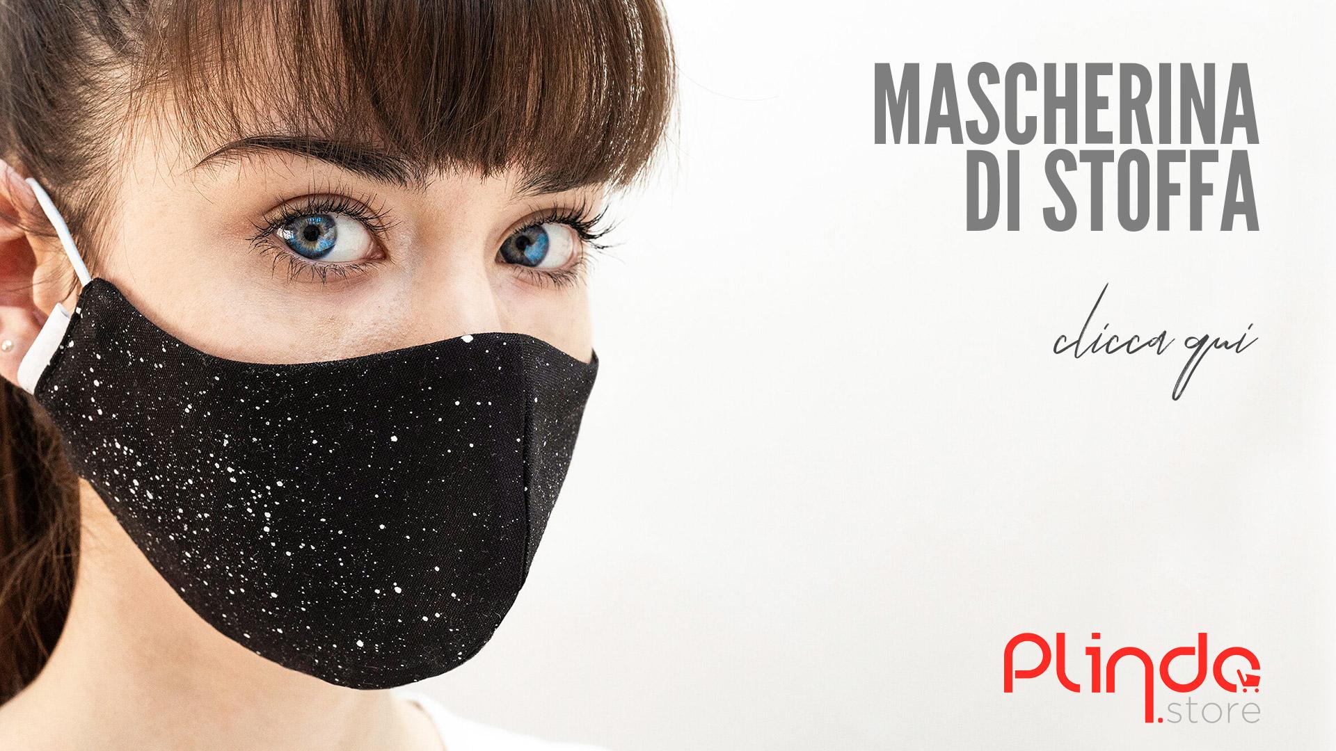 Mascherina stoffa realizzate a mano acquisto online