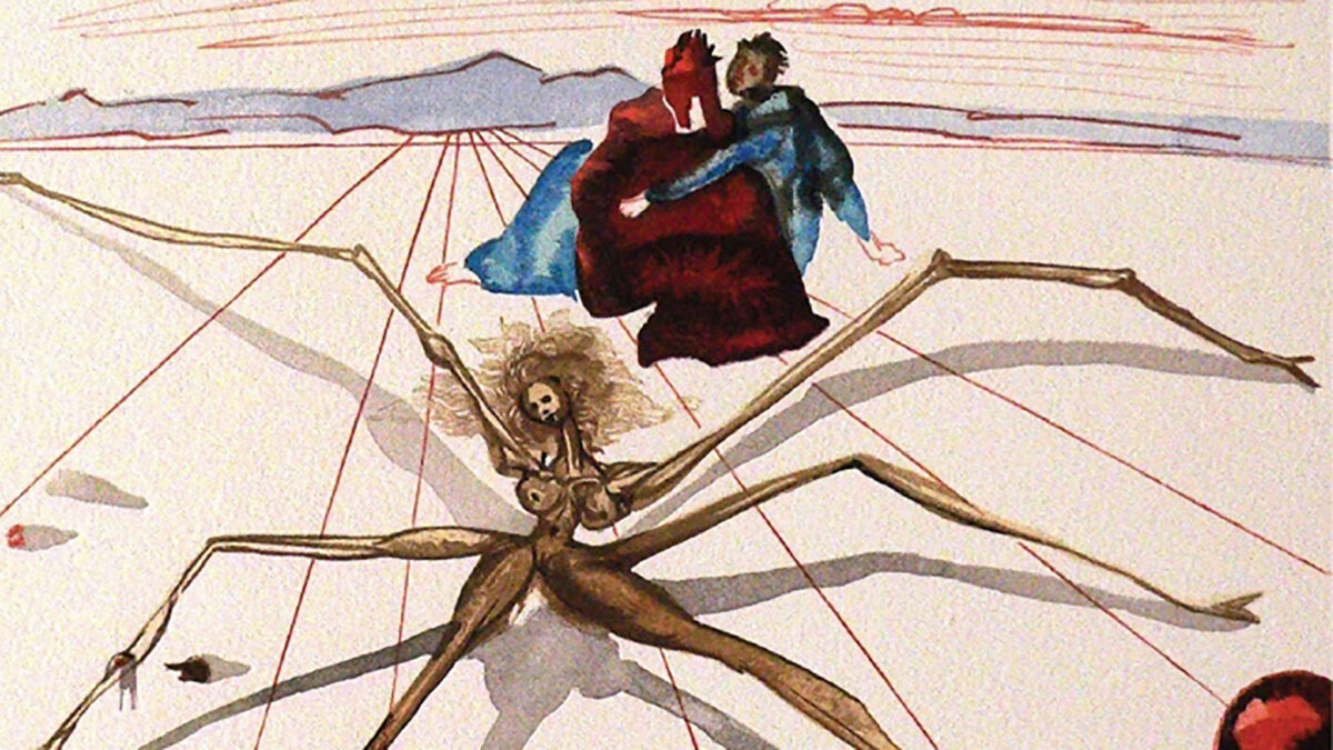 La Divina Commedia nelle magnifiche illustrazioni di Salvador Dalí