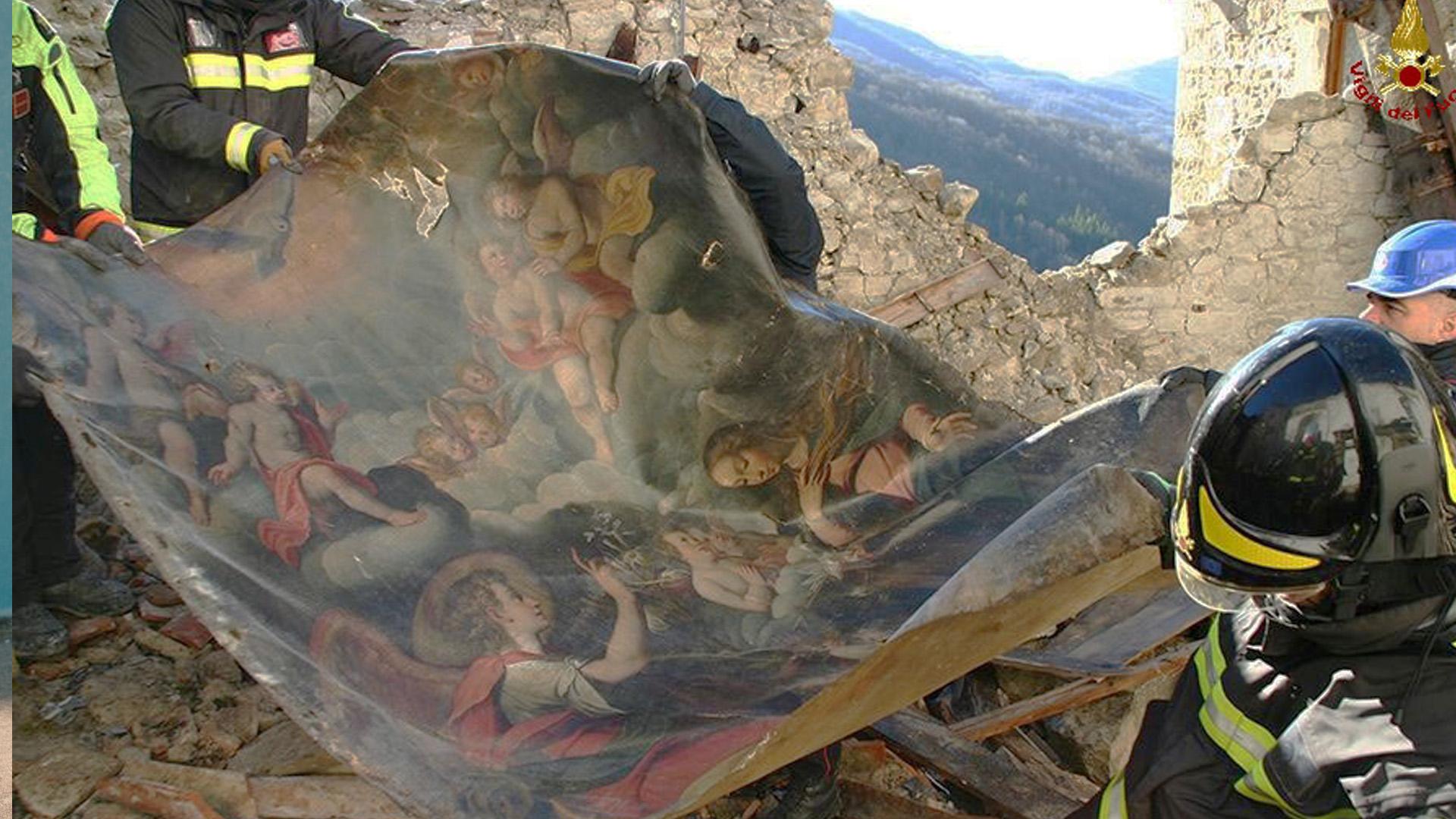 Opere d'arte terremoto Marche: 14000 pronte al restauro