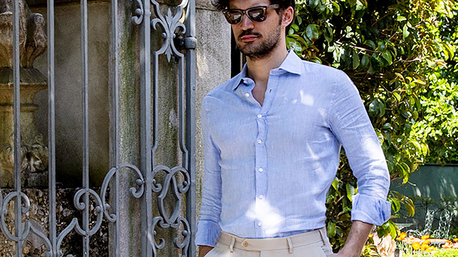 abbigliamento-minimal-chic-camicia-oxford