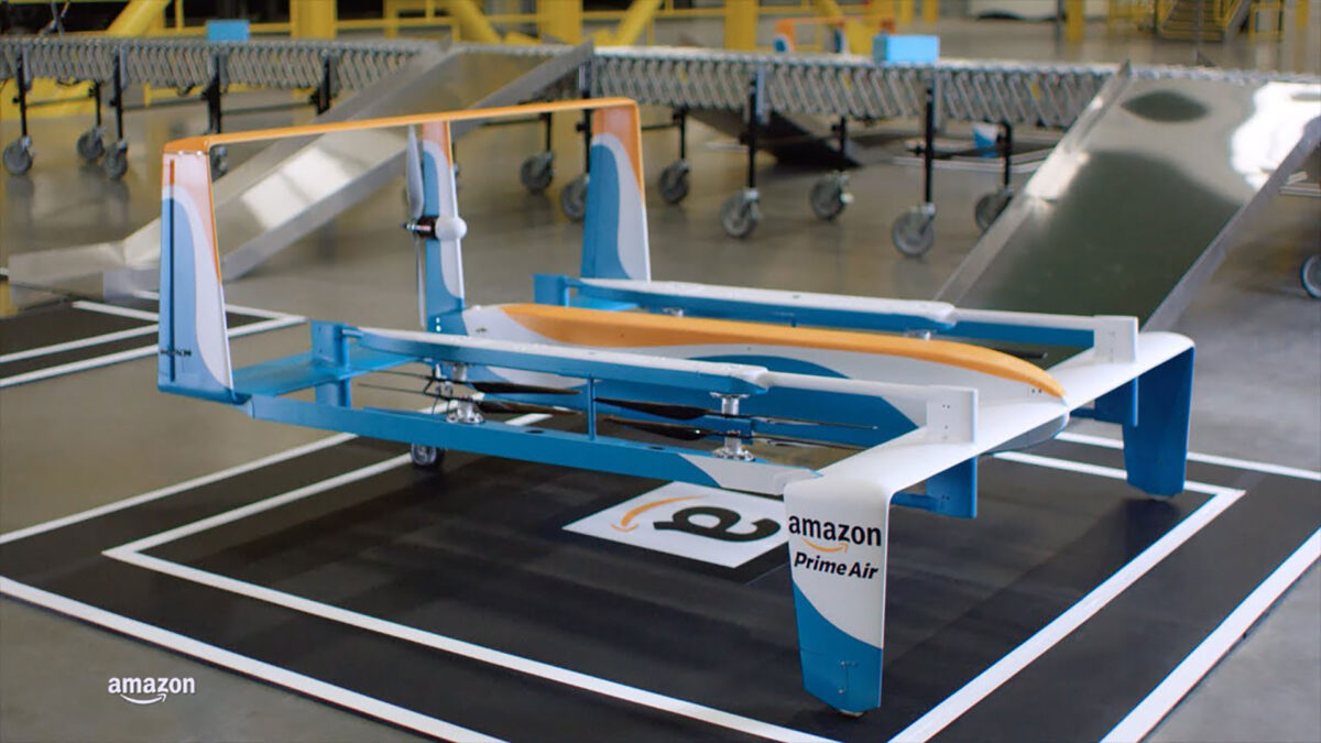 Amazon Prime Air, in Italia arriva la consegna con i droni