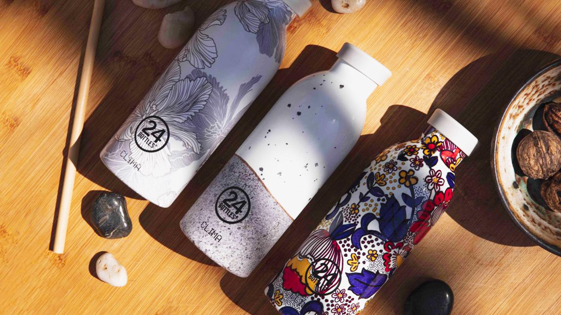 Bottiglie riutilizzabili che curano l'ambiente e il nostro corpo