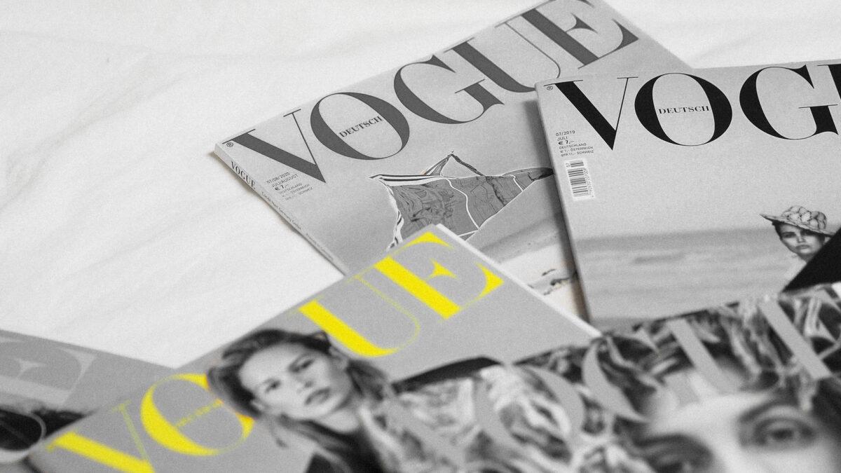 Copertina bianca Vogue Italia: è ora di riaccendere l'immaginazione