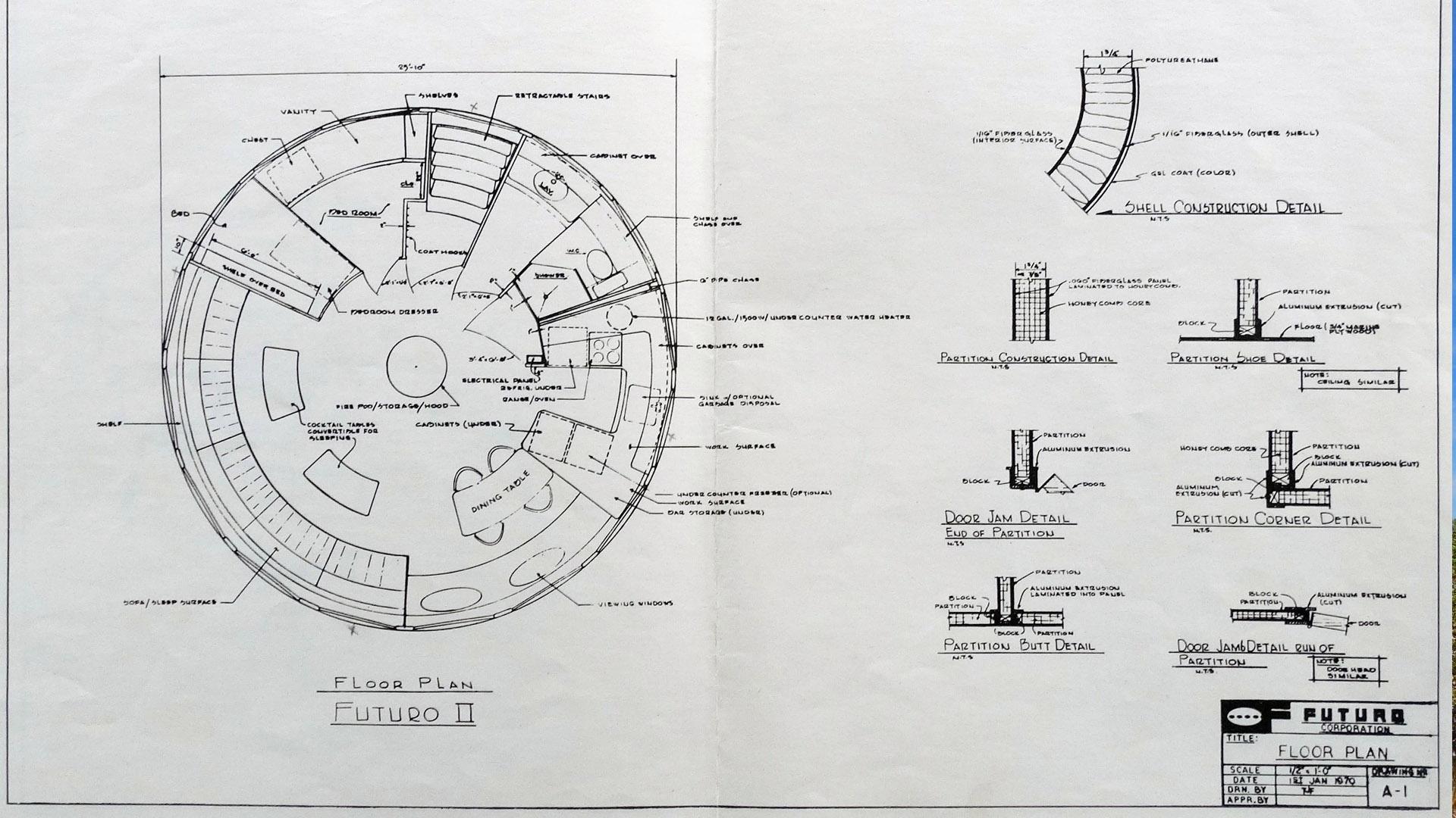 Futuro House Matti Suuronen: vivere in un disco volante oggi si può ancora