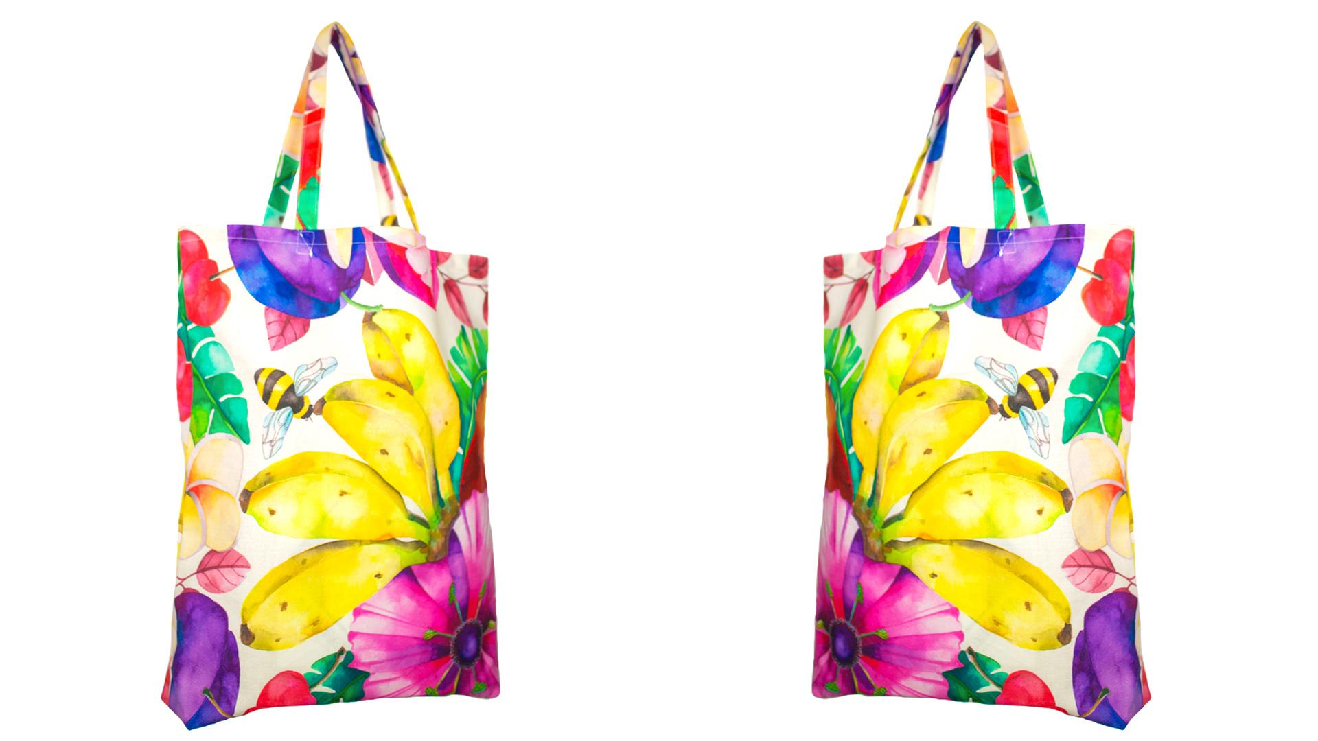 Shopping bag: quando la moda va a fare la spesa...in barca