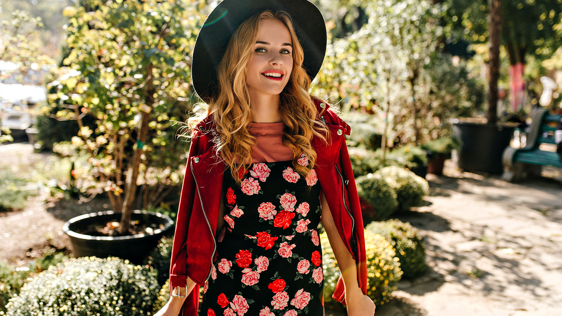Vestiti a fiori: 3 outfit autunno inverno da indossare