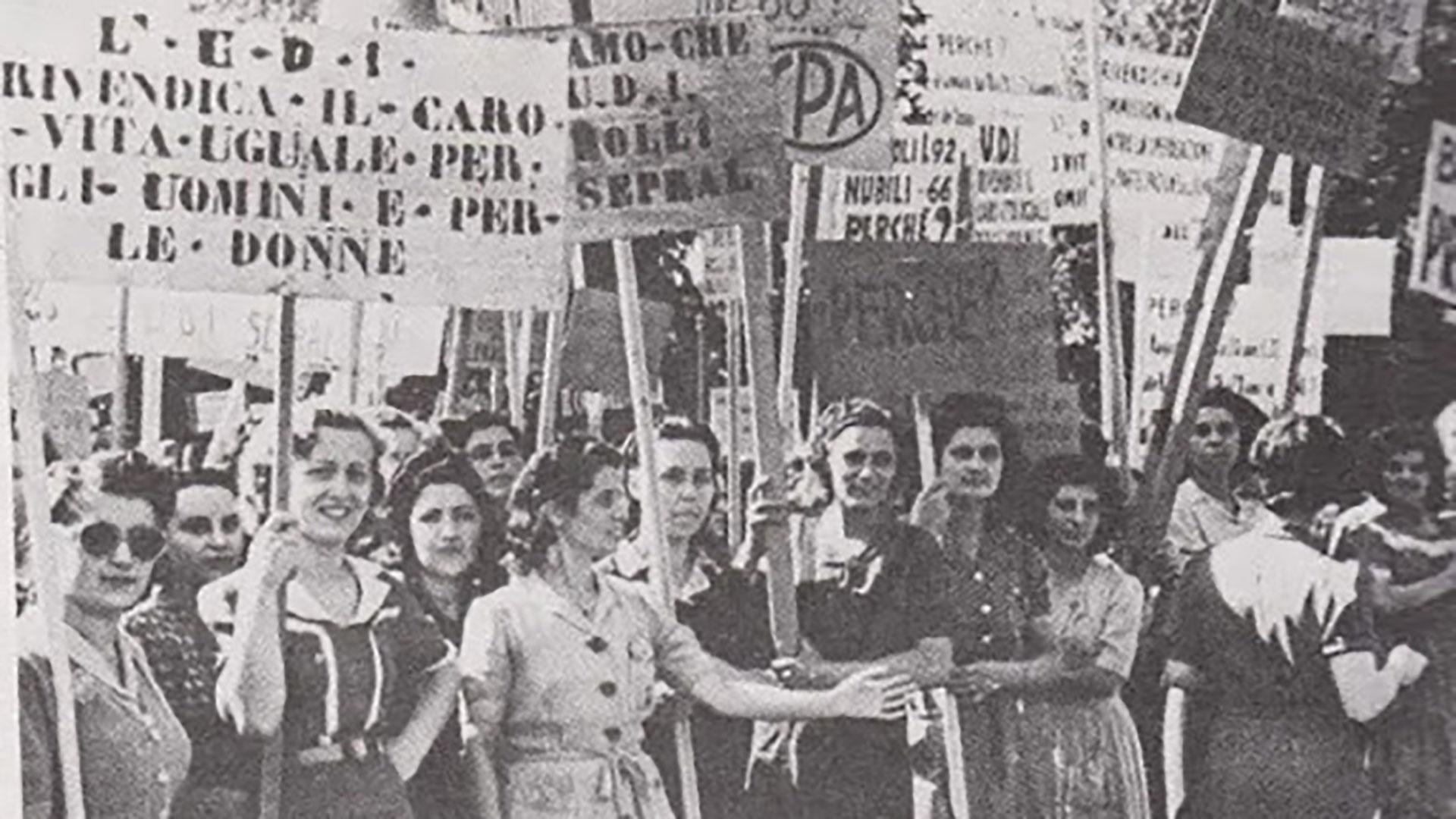 Festa della donna lotte