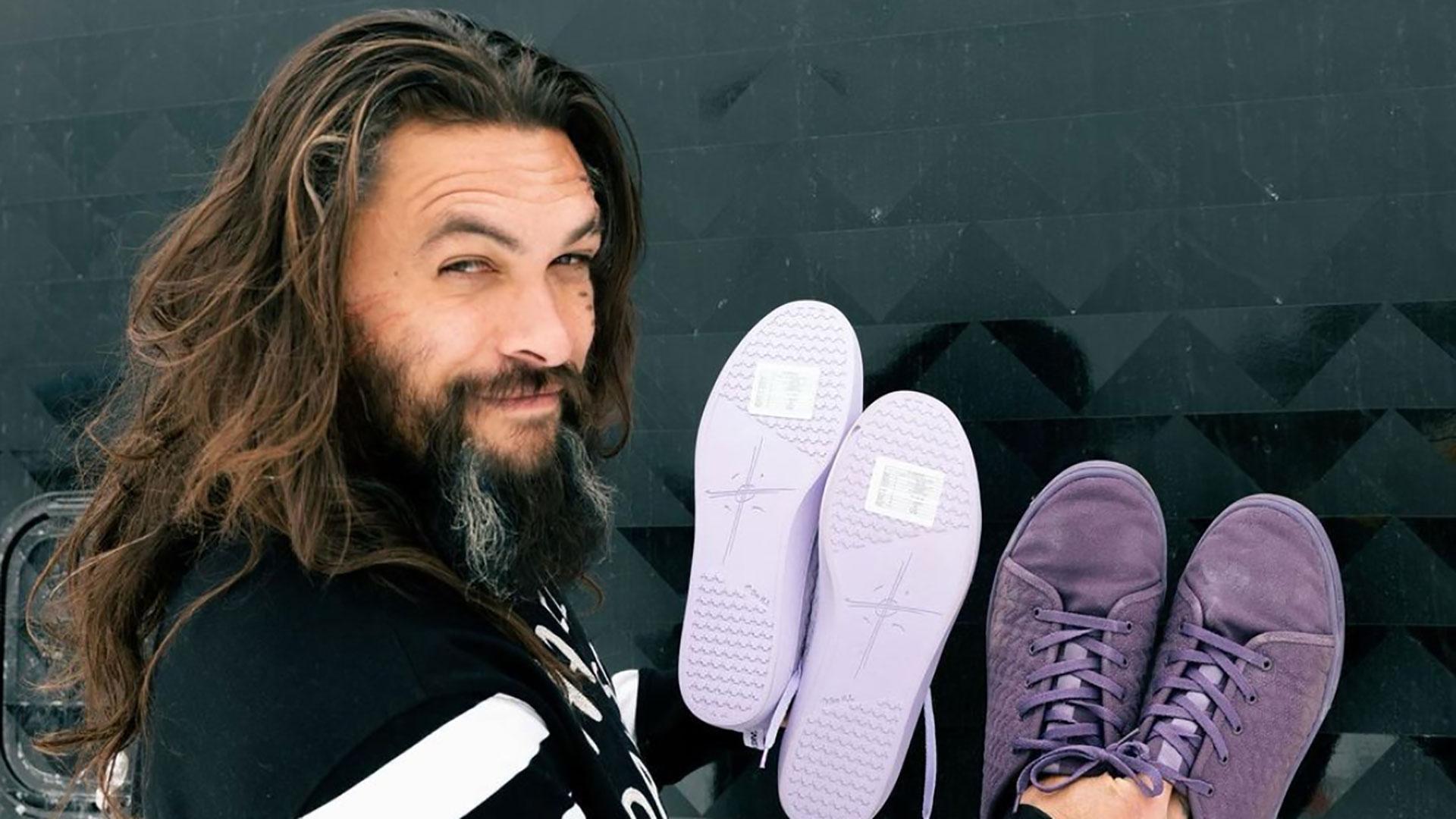 Alla scoperta delle nuove sneakers vegan di Jason Momoa