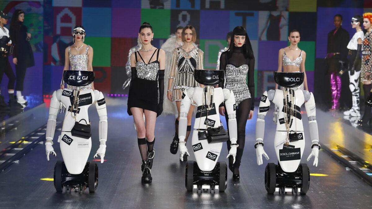 L'intelligenza artificiale sfila sulla passerella di Dolce e Gabbana