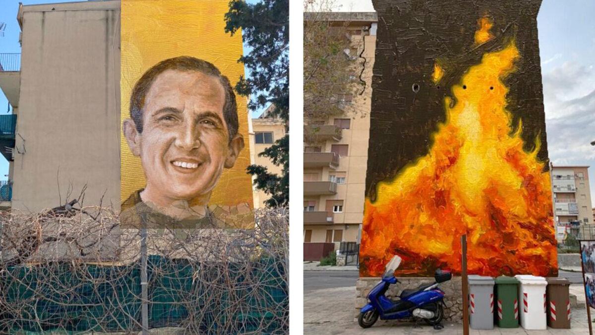 Arte urbana Spazi Capaci: per non dimenticare le vittime della mafia