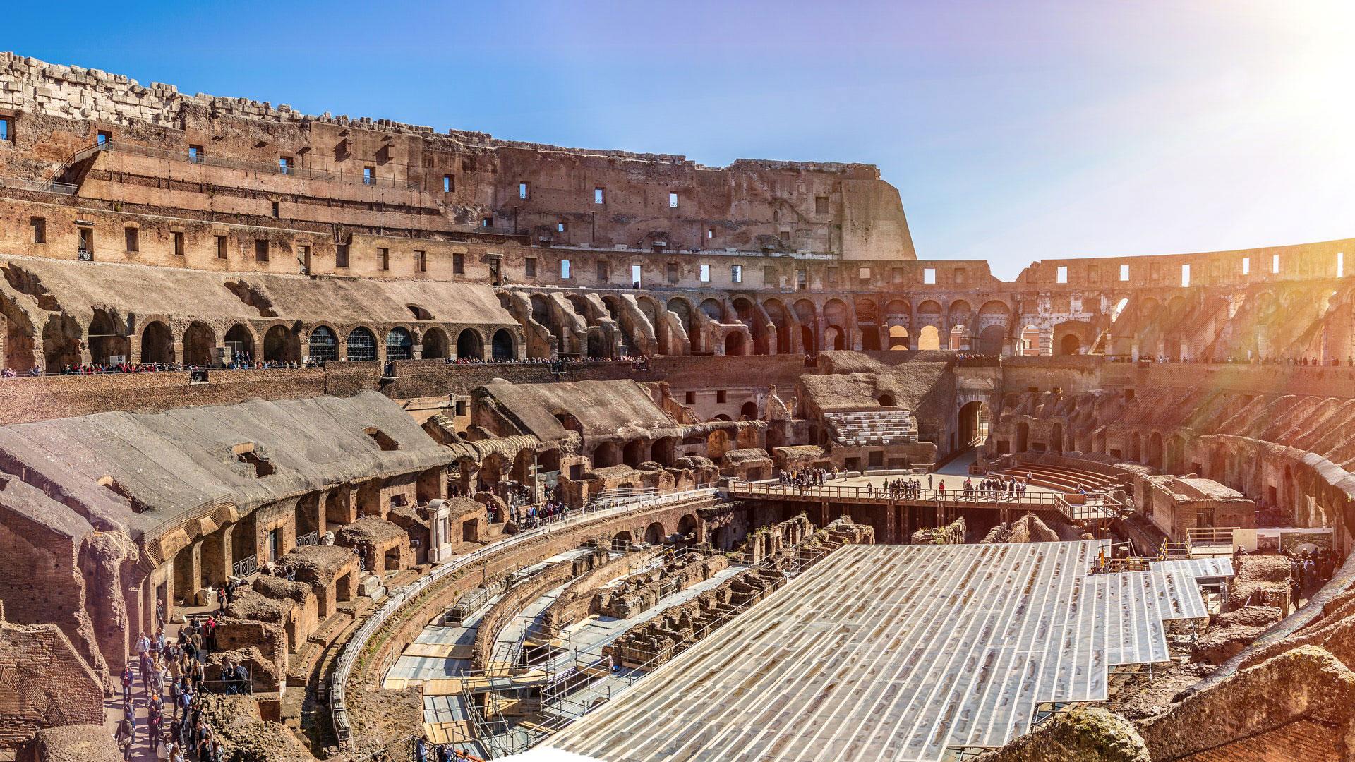Hi tech e green, ecco come sarà l'arena del Colosseo a Roma