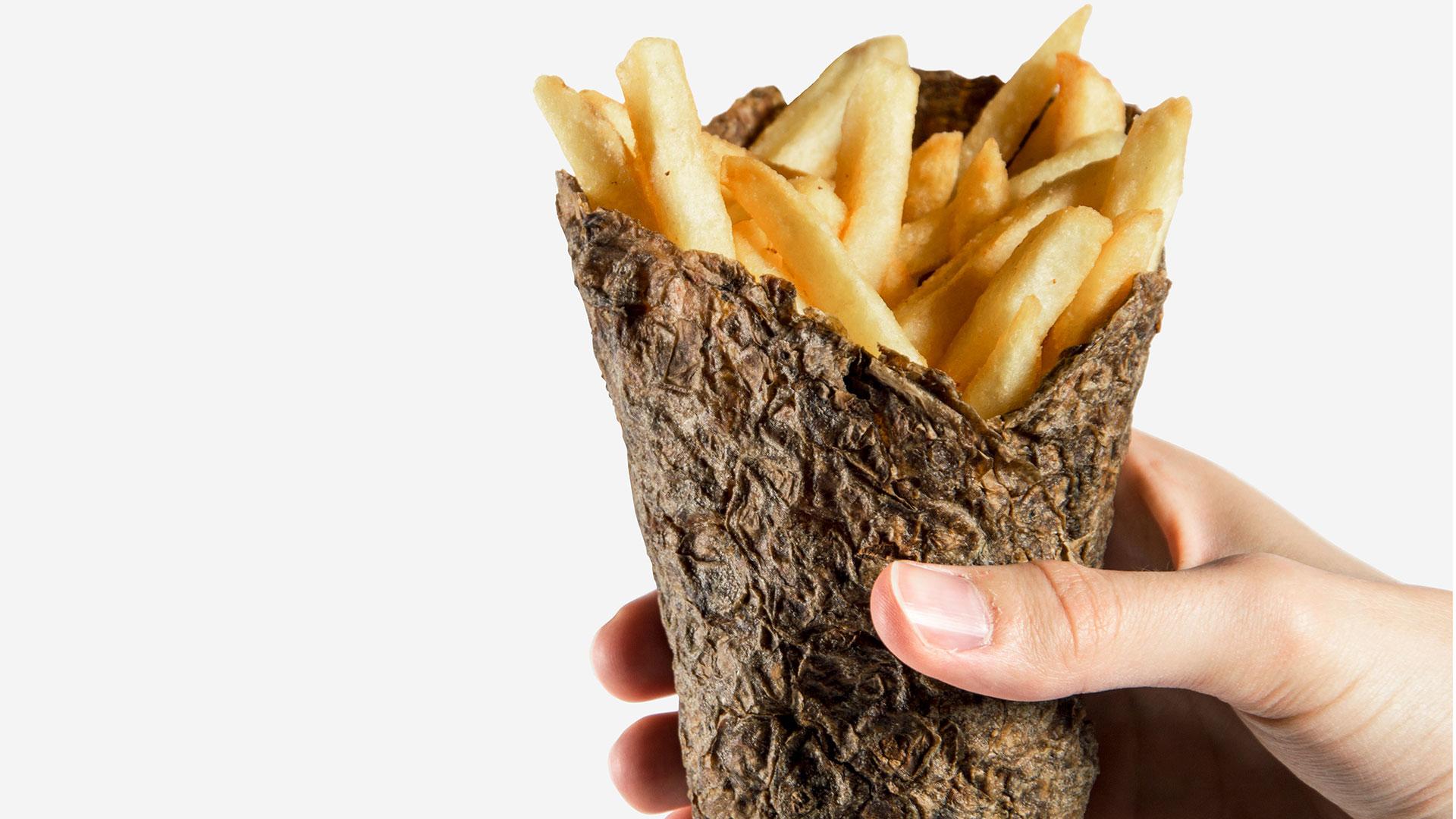 Peel Saver è il packaging made in Italy realizzato con le bucce di patate