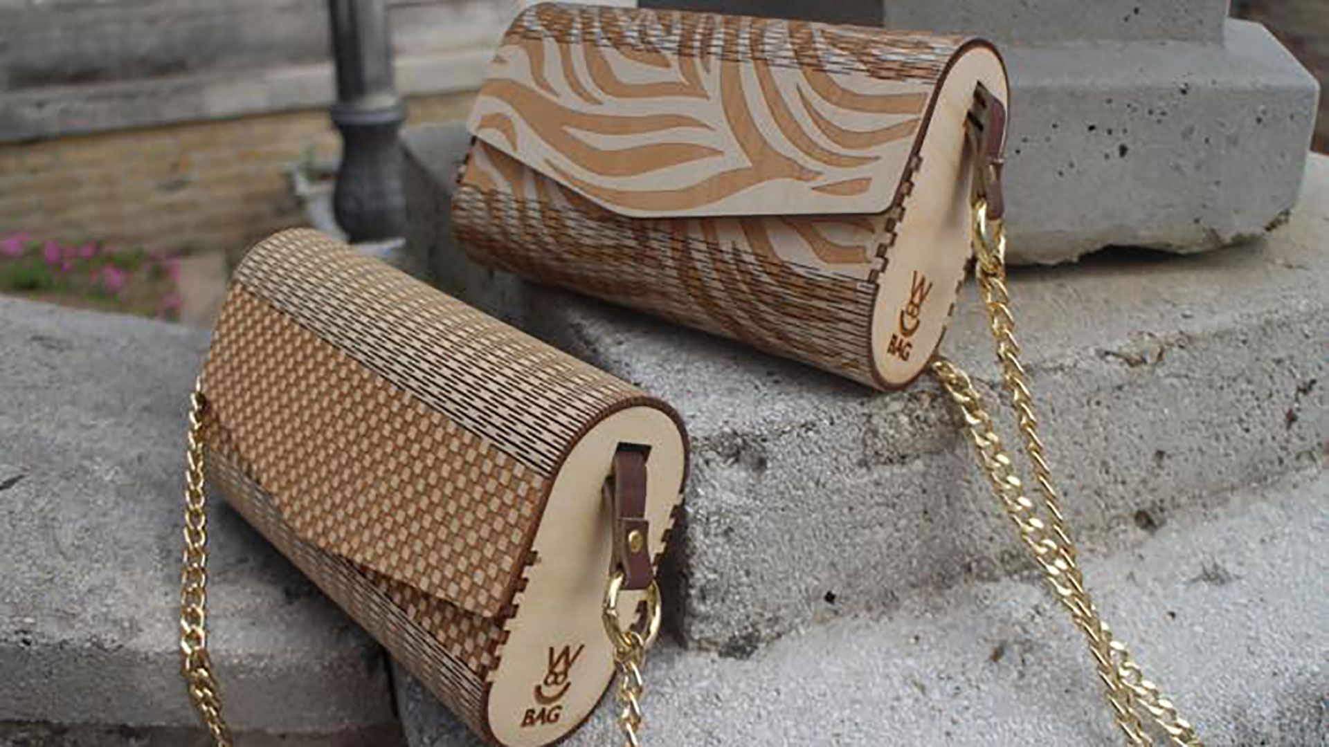 wood bag