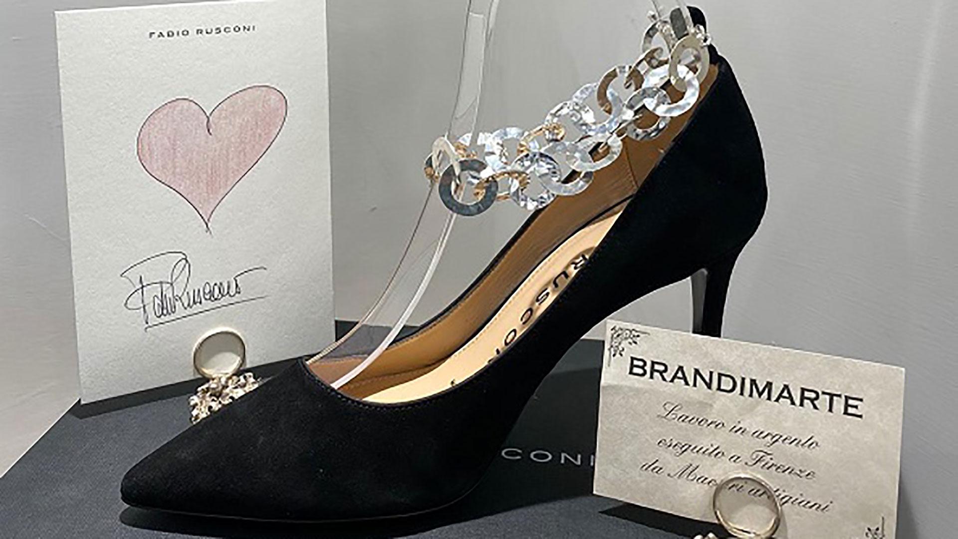 Fiorenza scarpa gioiello