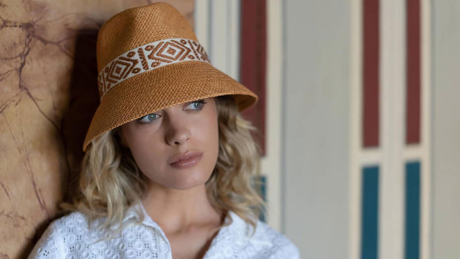 cappello artigianale estate raffaello