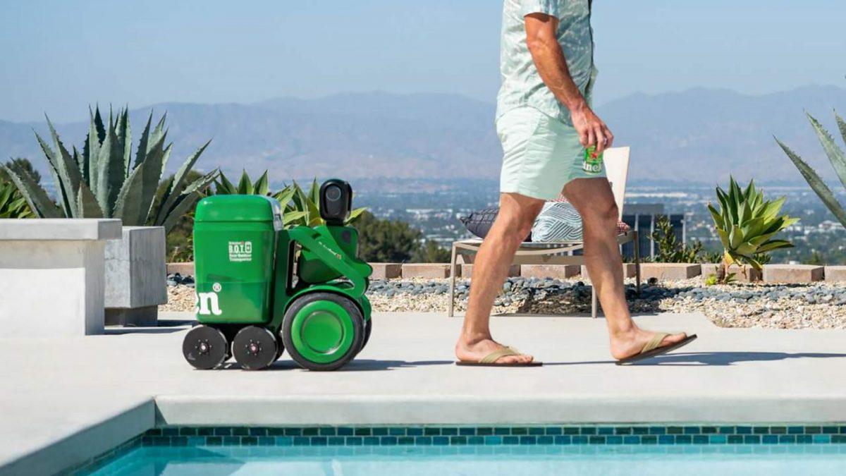 Heineken BOT è il robot che ti porta la birra fresca ovunque